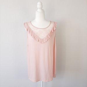 TORRID Blush Pink Sleeveless Top Size 2